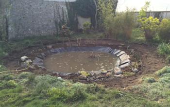 Réaménagement d'un bassin dans les Yvelines
