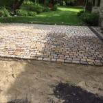 Joints ciment gris