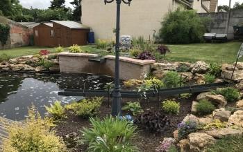 Réaménagement d'un bassin à Rosny-sur-Seine (78)