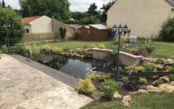 Vidéo : réaménagement d'un bassin à Rosny sur Seine