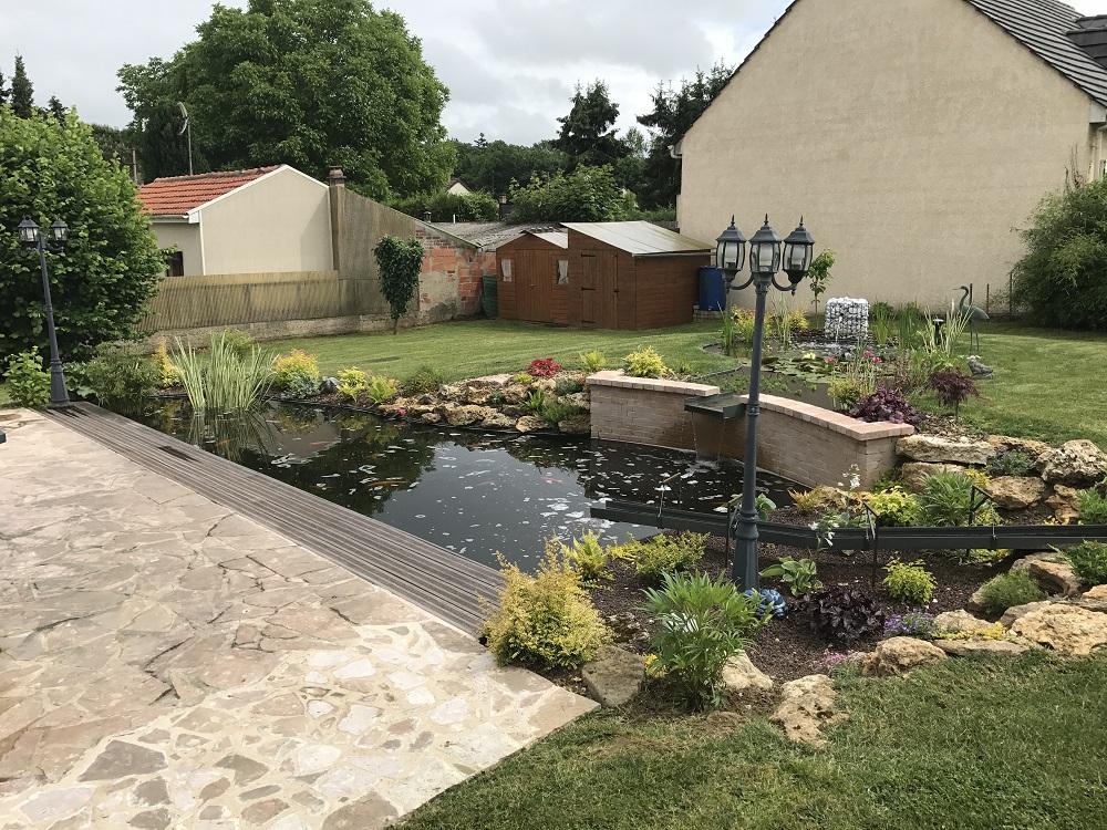 paysagiste bassin rosny sur seine