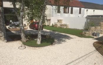 Allée de jardin Lommoye (78)