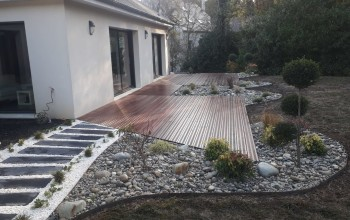 Terrasse en bois exotique Cumaru Lainville-en-Vexin 78440