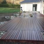terrasse bois exotique Lainville